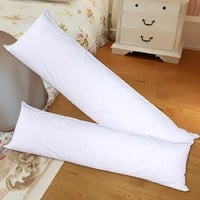 Hugging Long Pillow Inner White Body Cushion Pad Anime Rectangle Sleep Nap Pillow Home Bedroom Bedding Accessories 150 x 50CM35