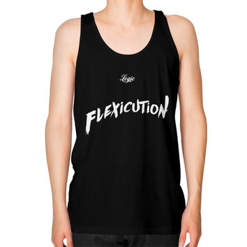 Flexicution Logic Unisex Fine Jersey Tank (on man) Shirt