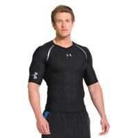 Under Armour Men's UA HeatGear ArmourVent Short Sleeve Compression Shirt