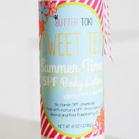 Sweet Tea Natural SPF Sunscreen Body Lotion