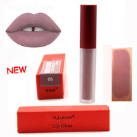 Brand YULUOSHI Matte Nude Lipstick Tint for Lips Cosmetics Long-lasting Not Fade Magic Lip Gloss Liquid Lipstick