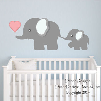 Elephant Wall Decal By Decor Designs Decals Nursery