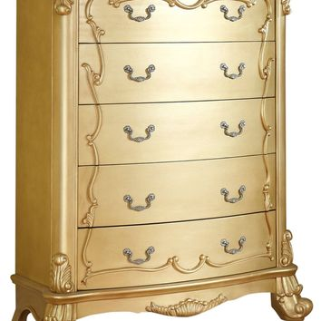 Zelda French Provincial Gold Chest