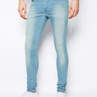 ASOS Extreme Super Skinny Jean In Light Wash