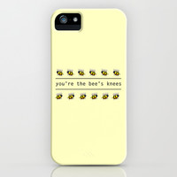 You're the Bee's Knees iPhone & iPod Case by Gretchen M.