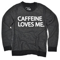 Chaser Clothing | Chaser - Caffeine Loves Me L/S Panel Tee » West Of Camden