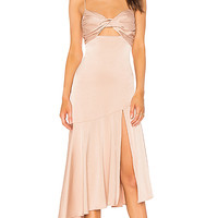 Misha Collection Lidia Dress in Blush