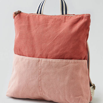 AEO Colorblocked Backpack , Red