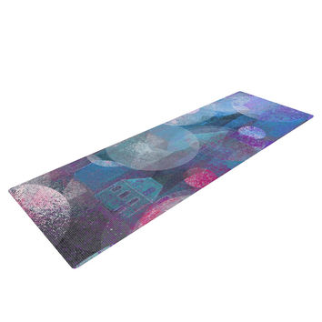 "Marianna Tankelevich ""Dream Houses"" Yoga Mat"