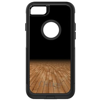 DistinctInk™ OtterBox Commuter Series Case for Apple iPhone or Samsung Galaxy - Basketball Court Floor