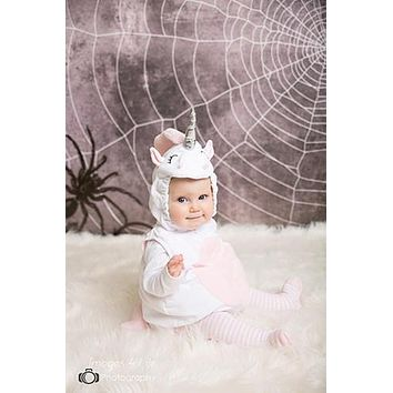 Halloween Spider Web Backdrop - 8063