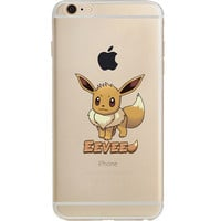 Pokemon Eevee Jelly Clear Case For Apple Iphone 6/6s (4.7-Inch)