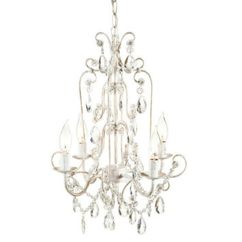 White Chandelier - Chain Is Included
