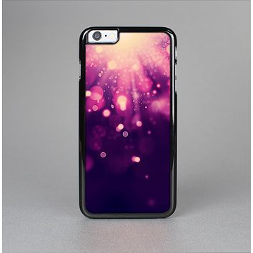 The Dark Purple with Desending Lightdrops Skin-Sert Case for the Apple iPhone 6