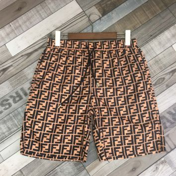 FENDI Shorts Summer Casual Sports Running Beach Shorts