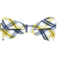 Tok Tok Designs Formal Dog Bow Tie for Medium & Large Dogs (B380, 100% Cotton)
