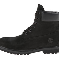 "Timberland 6"" Premium Boot Black Smooth - Zappos.com Free Shipping BOTH Ways"