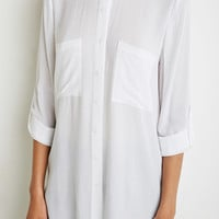 Longline Two-Pocket Shirt