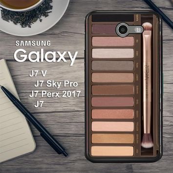 Make Up Naked2 R0030 Samsung Galaxy J7 V , J7 Sky Pro, J7 Perx 2017 SM J727 Case