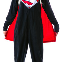 Undergirl Man of Steel Onesuit Black