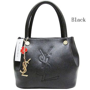 YSL Yves Saint Laurent female delicate hipster leather handbag shoulder bag F-MYJSY-BB Black