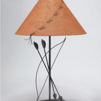 Classic Bow and Arrow Table Lamp