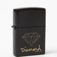 Diamond Supply Co Diamond Life Zippo Lighter - Mens Tees - Black - NOSZ