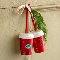 Starbucks 2013 Red Cup Ornament (ONE)