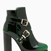 Jeffrey Campbell Mercer Buckled Ankle Boot