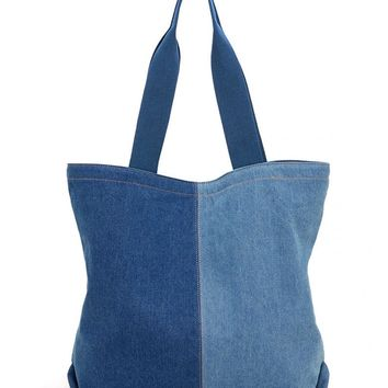 Denim Tote Bag - PRE-ORDER, SHIPS EARLY AUGUST