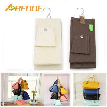 ABEDOE 4 Hooks Handbag Organizer Handbag Holder Hanger Hook Wardrobe Hook Handbag Collecting Hanger Hook Home Storage Holder