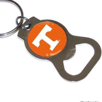Bottle Opener Key Ring, University of Tennessee Volunteers Sports NCAA Lic. Vols