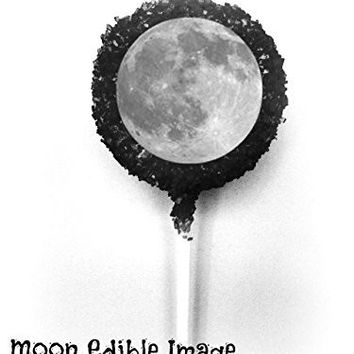 MOON White Chocolate Covered Oreo Cookie Pops