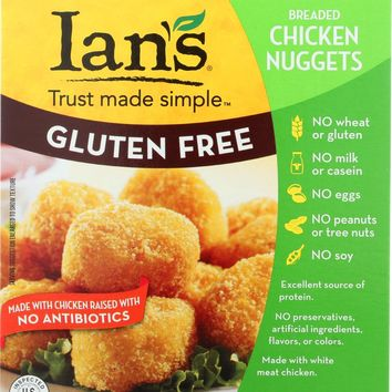 IAN'S NATURAL FOODS: Gluten Free Chicken Nuggets, 8 oz