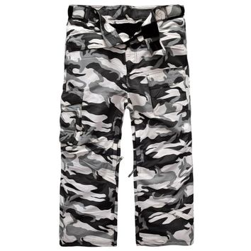 "Newest Edition ""Southplay"" Winter Season Waterproof Skiing Snowboard 10,000mm Camo Big Size Warming Military Pants"