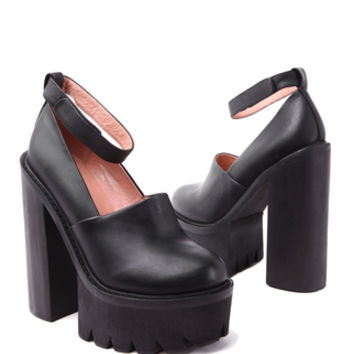 Jeffrey Campbell Scully in Black