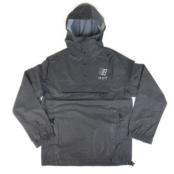 Huf: Huf x Bronze Packable Reflective Anorak - Black