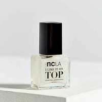 ncLA Party Favorite Glitter Top Coat Nail Polish