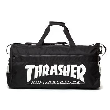 HUF | HUF X THRASHER TRAVEL BAG