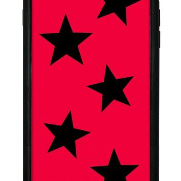 Red Vinyl Stars iPhone 6/7/8 Plus Case