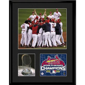 St. Louis Cardinals MLB 2006 World Champs Limited Edition Lithograph