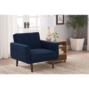 Better Homes and Gardens Nola Modern Velvet Chair, Multiple Colors - Walmart.com
