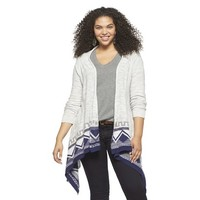 Plus Size Open Cardigan-Mossimo Supply Co.