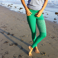 mermaid II yoga leggings
