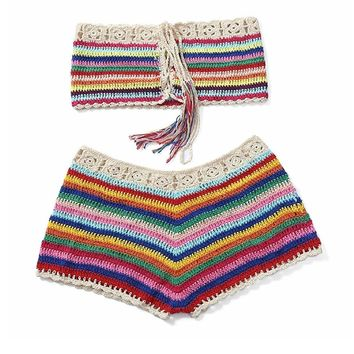 Cali Fever Crochet Beach Set