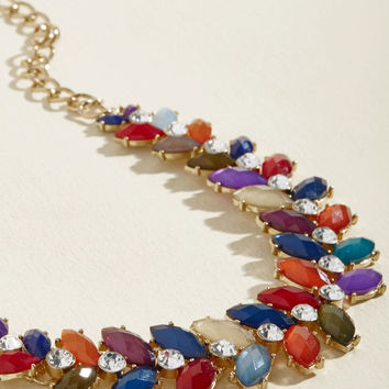Harmonious Harvest Statement Necklace