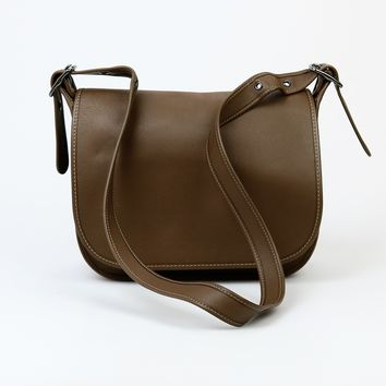 Coach Saddle Bag in Glove Tanned Leather