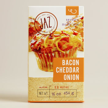 JAZ Bacon Cheddar Onion Muffin Mix, Set of 2 - World Market