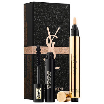 Sephora: Yves Saint Laurent : Touche Éclat + Miniature Mascara Set : eye-sets