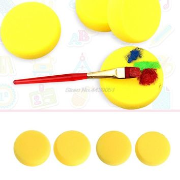 Round Painting Sponge For Art Drawing Craft Clay Pottery Sculpture Cleaning Tool Painting Tool DropShip